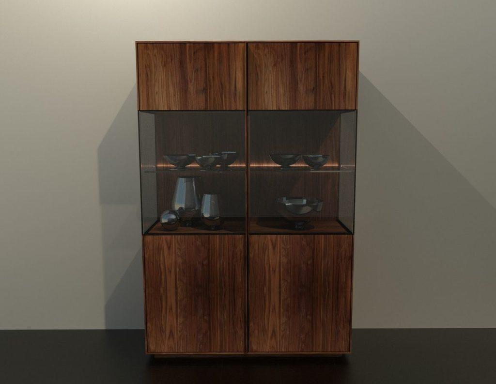 kínáló szekrény, Kínáló szekrények