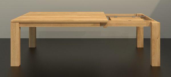 ALEA tömörfa meghosszabítható étkezőasztal – 361100