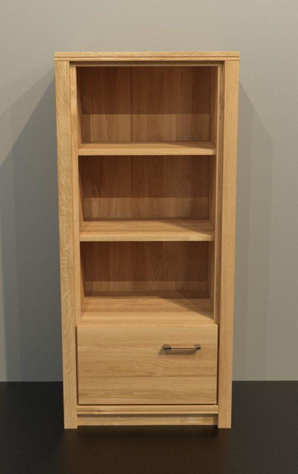 ALEA tömörfa polcos szekrény – 153125