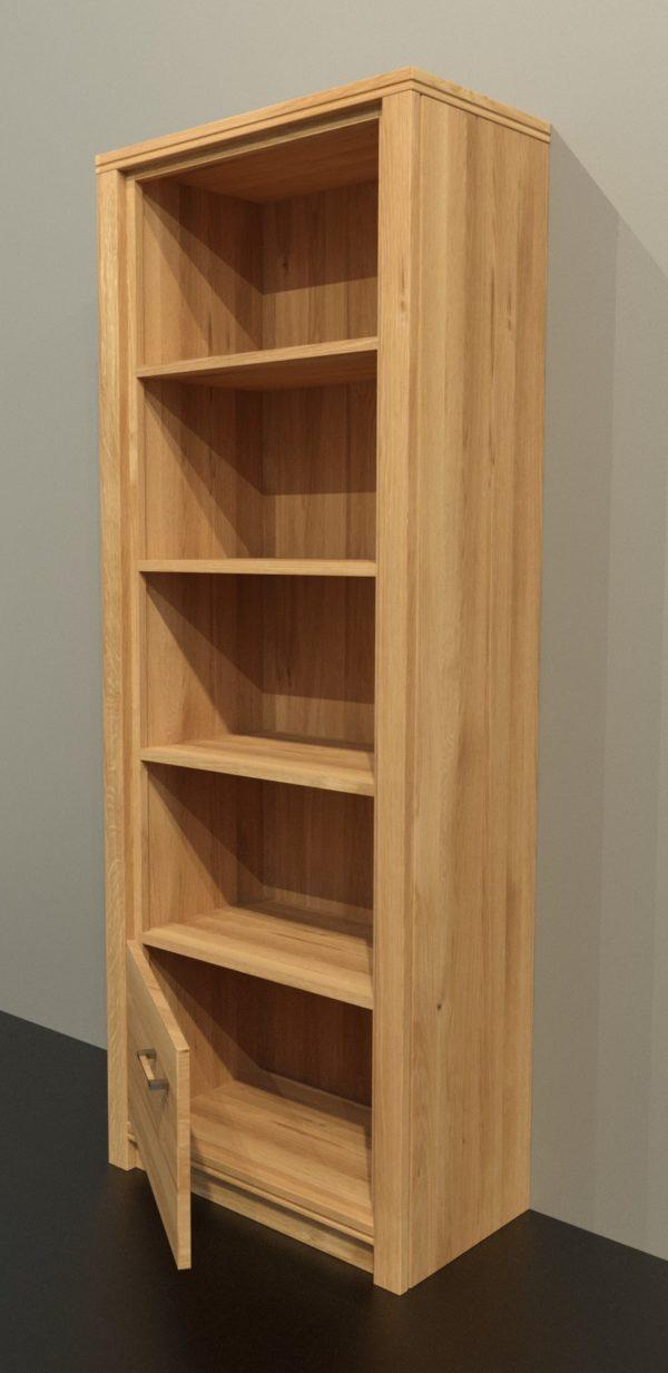 ALEA tömörfa polcos szekrény – 154145